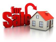 Haus für Verkauf Stockfotos