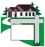 Haus für Verkauf Stockbilder