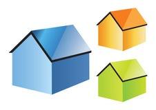 Haus für Verkauf - Vektor lizenzfreie stockfotografie