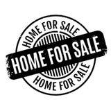 Haus für Verkaufsstempel Lizenzfreies Stockbild