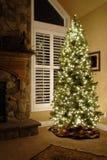 Haus für Weihnachten lizenzfreies stockfoto