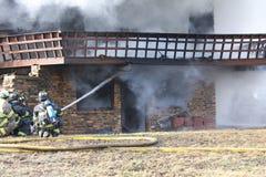 Haus-Feuer Lizenzfreie Stockbilder