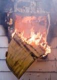 Haus-Feuer Lizenzfreie Stockfotografie