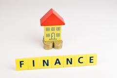Haus-Finanzierung Stockfotografie