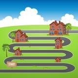 Haus-Fortschritt Lizenzfreies Stockbild
