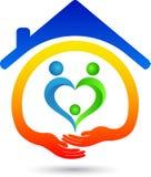 Haus für Liebe Stockbilder