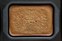Haus gebildeter Kuchen Stockbilder