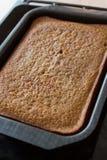 Haus gebildeter Kuchen Stockbild