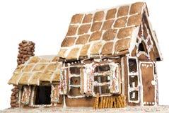Haus gemacht vom Mehl und vom Zucker Lizenzfreie Stockfotos