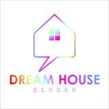 Haus-Geschäfts-Logo Lizenzfreie Stockfotos