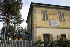 Haus Giacomo-Puccinis Lizenzfreie Stockbilder