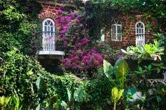 Haus in Goa stockfotos