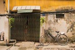 Haus in Hanoi Stockbild