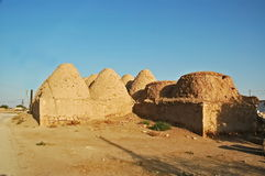 Haus Harran Adobe Stockfotos