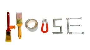 Haus-Hilfsmittel Stockfoto