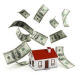 Haus-Hypothek Stockfoto