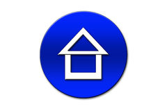 Haus-Ikone Stockfotografie