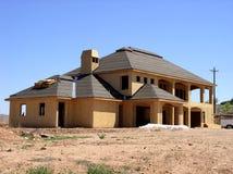 Haus im Aufbau Stockfotos
