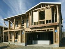 Haus im Bau Stockfotos