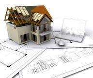 Haus im Bau vektor abbildung