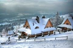 Haus im Berg Lizenzfreies Stockfoto