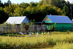 Haus im Dorf Lizenzfreies Stockfoto