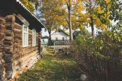 Haus im Dorf Lizenzfreies Stockbild