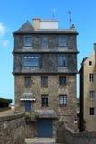 Haus im Heiligen Malo Stockfotos