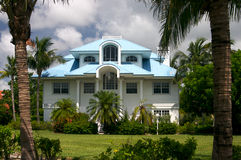 Haus im tropischen Paradies Stockfoto