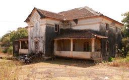 Haus in Indien Stockfotografie
