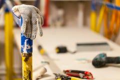 Haus ist im Bau, Umgestaltung, Wiederaufbau und Erneuerung Stockfotos