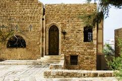 Haus in Jaffa stockbild