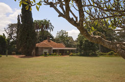 Haus Karen-Blixens, Kenia. Lizenzfreie Stockbilder