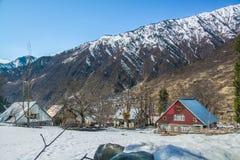 Haus in Kaschmir Lizenzfreie Stockfotos