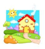 Haus, kleines Haus Lizenzfreie Stockfotos