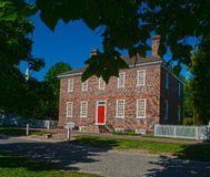 Haus in Kolonial-Williamsburg, Virginia Lizenzfreie Stockfotos
