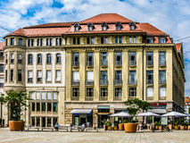 Haus Kossenhaschen à Erfurt, Allemagne Photographie stock libre de droits