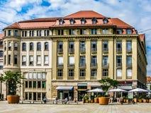 Haus Kossenhaschen en Erfurt, Alemania Fotografía de archivo libre de regalías