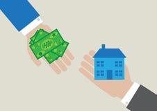 Haus-Kosten Stockfoto