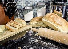 Haus machte Brot lizenzfreie stockbilder
