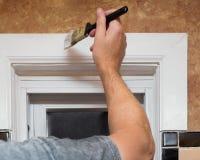 Haus-Malerei Stockfotografie
