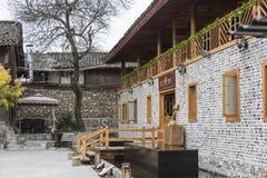 Haus in Mao Zedong Residence-Standort Stockbilder