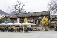 Haus in Mao Zedong Residence-Standort Stockbild