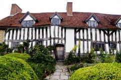 Haus Mary-Ardens in Stratford nach Avon lizenzfreie stockbilder