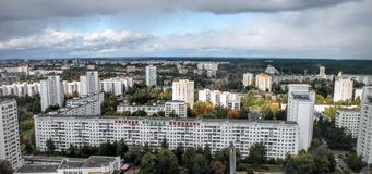 Haus in Minsk Stockfotos