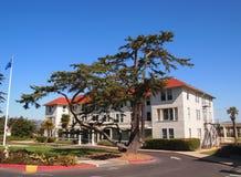 Haus mit Baum in San Francisco Lizenzfreies Stockbild