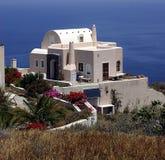 Haus mit einer Ansicht Stockbilder