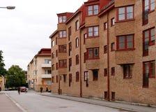 Haus mit Erker Stockfotografie