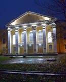 Haus mit Lichtern Lizenzfreie Stockfotografie