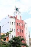 Haus mit Mühle Lizenzfreies Stockfoto